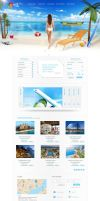 Travel Agent Site Interface_by dabbexsahi by dabbex30