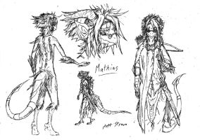 Mathias - Early Sketches by Faullyn