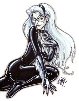 Black Cat C2E2 sketch by ComfortLove