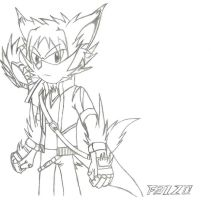 FAIZO The Hedgehog by Fizzle-Knight