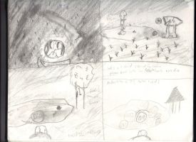Bronte Story Board (Fr. 1-4) by cldennis12