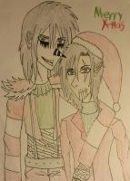Merry Christmas From Laughing Jack and Lucas by ocean82802
