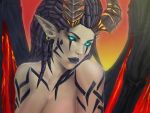 heroes of the storm succubus kerrigan by Vymnis