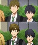 MakoHaru Screencap redraw by corazongirl