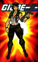 Gi Joe Leatherneck Superbuff female version by RWhitney75