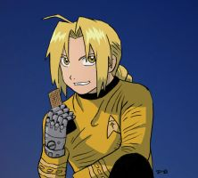 Fullmetal Captain by rocketdave