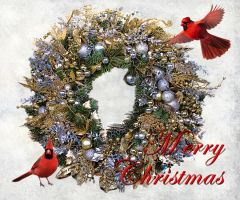 Christmas Wreath 2011 by muffet1