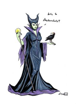 Maleficent by didism
