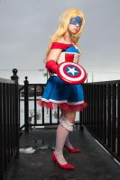 Capitain America - Ready to fight by AmetystKing