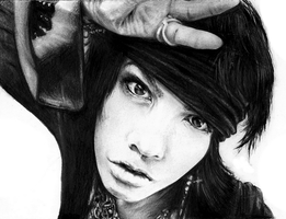 Hyde pencil drawing by BleedingOffence