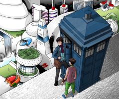 Drwho3 by MikeMcelwee