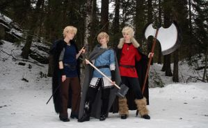 The vikings by FarbrorEstersPojkar