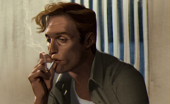 Rust Cohle by ATZs