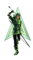 Green Arrow by Green-Nightingale