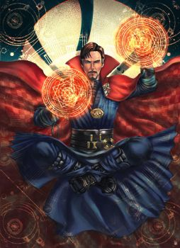 -patreon- Dr Strange by cric