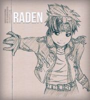 .: Sketch - Raden for KaiHitanji :. by adobongsiopao