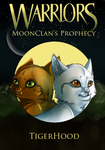 MoonClan's Prophecy - Book Cover by little-space-ace