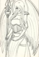 Avacyn, Angel of Hope by YurixTheWanderer