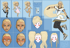 COMM: Alice Character Sheet by landiddy
