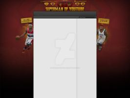 YouTube Layout /// iPodKingCarter by enveedesigns