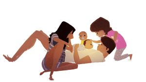 Tummy Time by PascalCampion