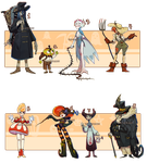 HALLOWEEN BATCH! - CLOSED by Cate-adoptables