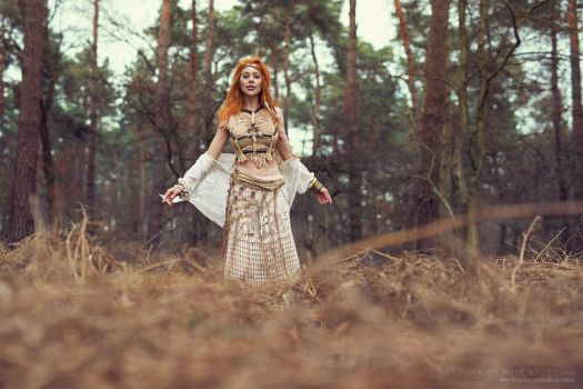 In the woods by Ophelia-Overdose