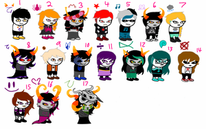 Homestuck adopts [7/17 OPEN] by Assblaster-Adopts