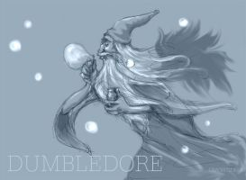 Tribute To Dumbledore by usagistu