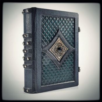 Gothic leather journal... by alexlibris999