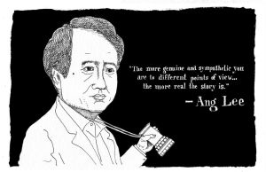 Ang Lee by JackRaz