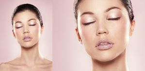 Digital Make Up PrettyinPink by NataliaTaffarel