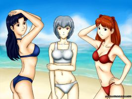 NGE girls v1.0 by grandchaosSR