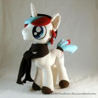 OC Pony Plushie: Quickstitch by WhiteHeather