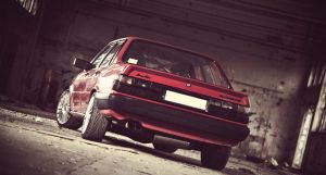 Audi 80 (B2) by axds