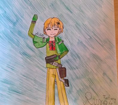 Rune Factory 4 Character Series - 03 Kiel by happydreamer96