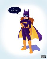 Batgirl by BlackRamu