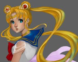 Sailor Moon by RickValentine