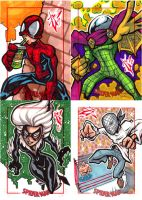 Spiderman Archives preview by skulljammer
