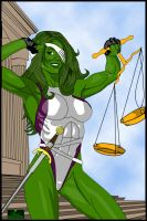 She-Hulk 02 by hotrod5
