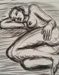 Life Drawing seated figure by TheRavensBastard39