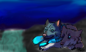 .:That Starry Night:. by Blueheart3