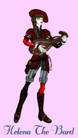 BF:: Helena the bard by MistressOfHorror