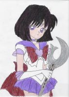 My Love: Sailor Saturn by VoltronZ1