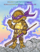 Custom Chibi Donatello BlueHue by alaer