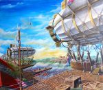 Luftschiffe/ Airships by Feivelyn