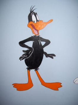 Daffy Duck Mural by DrSchmitty