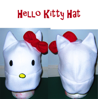 Hello kitty hat by wolffang56