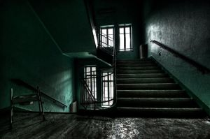 Green Stairs by stengchen