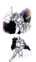 The White Knight by AaronKuder